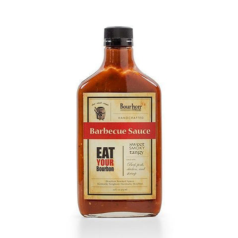 Bourbon Barrel Barbecue Sauce Sweet Smoky Tangy 12oz - Galena River Wine and Cheese