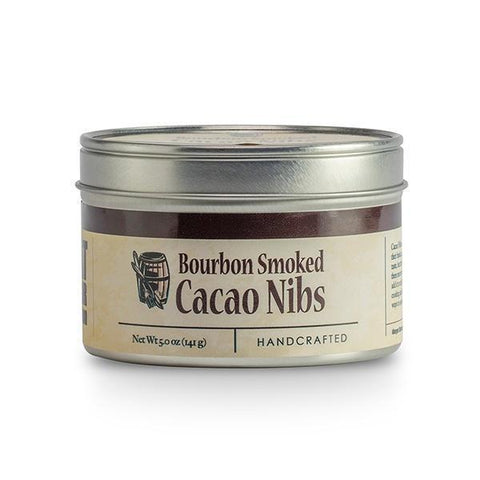 Bourbon Barrel Bourbon Smoked Cacao Nibs 5oz - Galena River Wine and Cheese