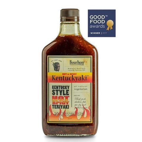 Bourbon Barrel Hot & Spicy Kentuckyaki 375ml - Galena River Wine and Cheese