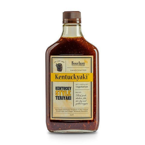 Bourbon Barrel Kentuckyaki 375ml-Galena River Wine and Cheese