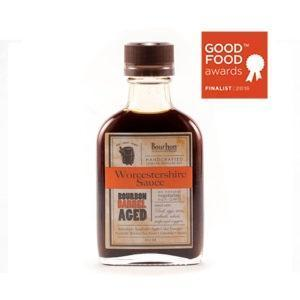Bourbon Barrel Worcestershire Sauce 100ml-Galena River Wine and Cheese