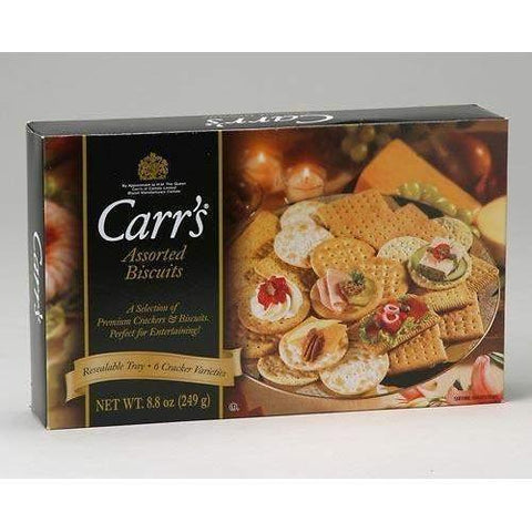 Carr's Assorted Biscuits for Cheese 7.05 oz-Galena River Wine and Cheese