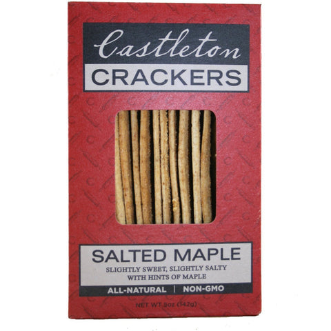 Castleton Salted Nut Crackers 5oz-Galena River Wine and Cheese