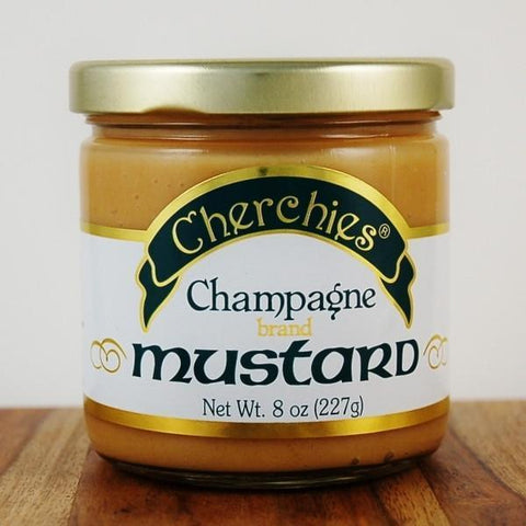 Cherchies Champagne Mustard - Galena River Wine and Cheese