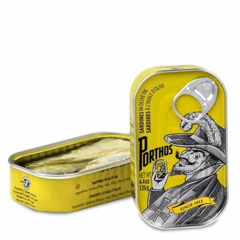 Conservas Portugal Norte Sardines in Olive Oil 4.4oz - Galena River Wine and Cheese