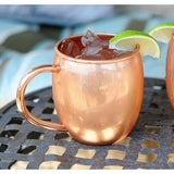 Copper Barrel Mugs 16 oz-Galena River Wine and Cheese