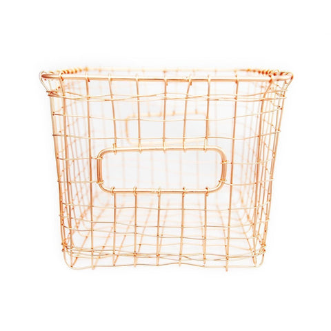 Copper Wire Basket - Galena River Wine and Cheese