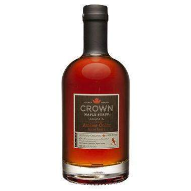 Crown Maple Syrup Amber  375ml - Galena River Wine and Cheese