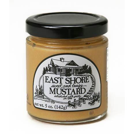 East Shore Sweet Tangy Mustard 5oz-Galena River Wine and Cheese