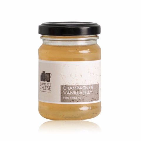 Farmgate Cheese Champagne and Vanilla Jelly 5.29oz-Galena River Wine and Cheese