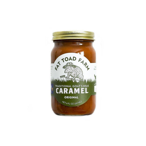 Fat Toad Farm Goat Milk Original Caramel  6oz - Galena River Wine and Cheese