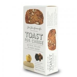 Fine Cheese Toast Quince Pecan and Poppy Seed 3.5oz - Galena River Wine and Cheese