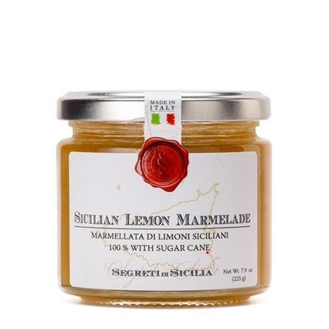 Frantoi Cutrera Sicilian Lemon Marmalade 7.9oz - Galena River Wine and Cheese