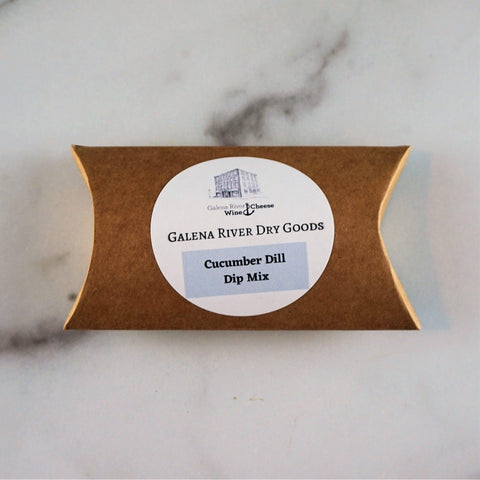 Galena River Dry Goods Cucumber Dill Dip Mix-Galena River Wine and Cheese