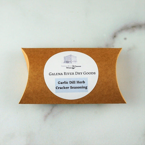 Galena River Dry Goods Garlic Dill Cracker Seasoning-Galena River Wine and Cheese