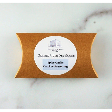 Galena River Dry Goods Spicy Garlic Cracker Seasoning Mix-Galena River Wine and Cheese