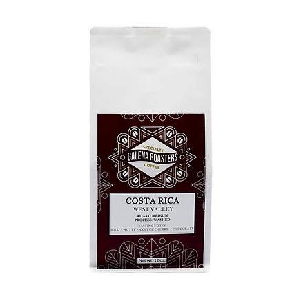 Galena Roasters Costa Rica West Valley 12oz-Galena River Wine and Cheese