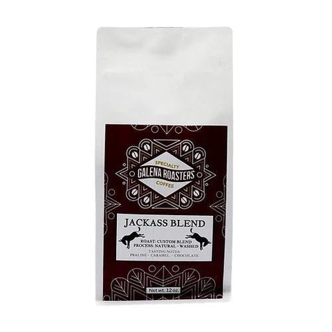 Galena Roasters Jackass Blend 12oz-Galena River Wine and Cheese