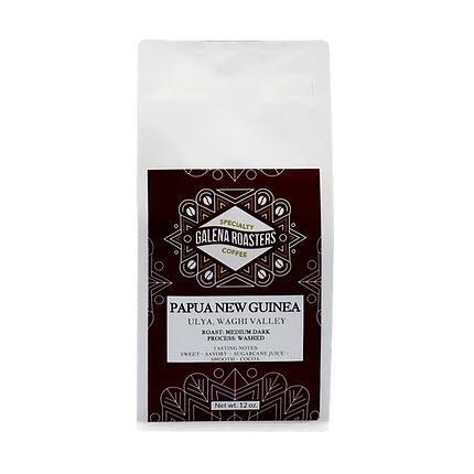 Galena Roasters Papua New Guinea 12oz-Galena River Wine and Cheese