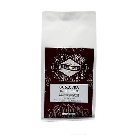 Galena Roasters Sumatra Harimau Tiger12oz-Galena River Wine and Cheese