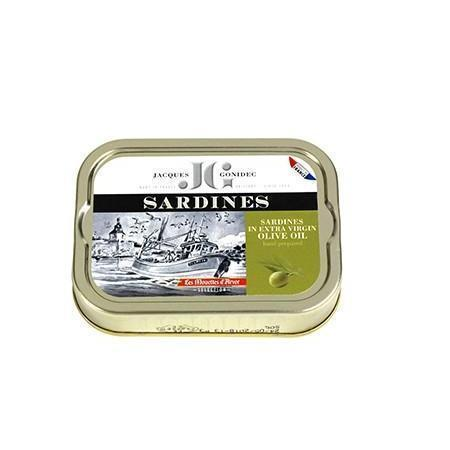 Gonidec Sardines in Extra Virgin Olive Oil 4oz - Galena River Wine and Cheese