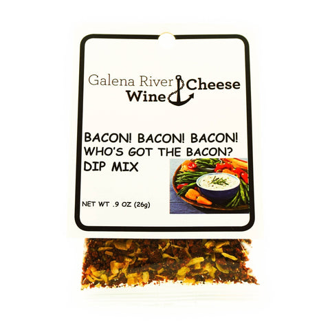 GRWC Bacon Bacon Bacon Dip .9 oz - Galena River Wine and Cheese