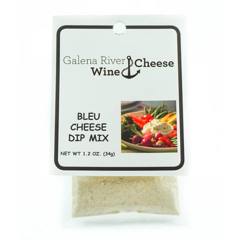 GRWC Bleu Cheese Dip 1.2oz - Galena River Wine and Cheese