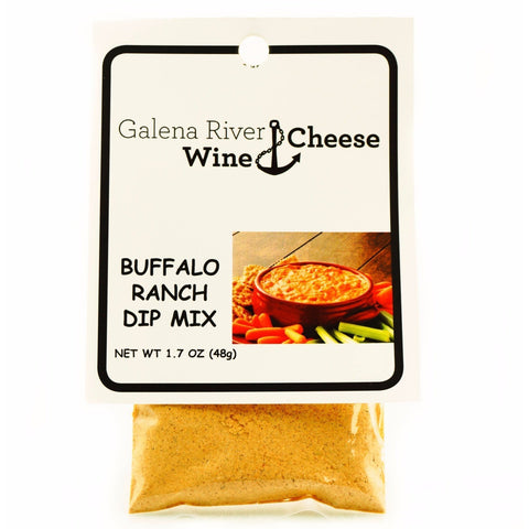 GRWC Buffalo Ranch Dip  Mix 1.7oz - Galena River Wine and Cheese