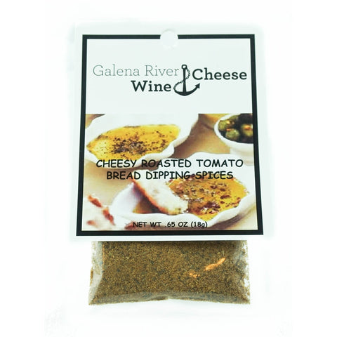 GRWC Cheesy Roasted Tomato Dipping Spice .65oz - Galena River Wine and Cheese