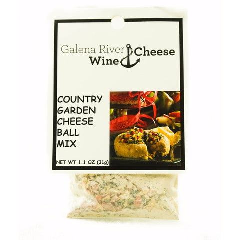 GRWC Country Garden Cheese Ball Mix - Galena River Wine and Cheese