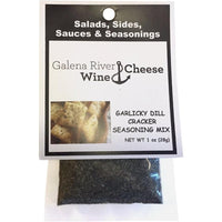 GRWC Garlicky Dill Cracker Seasoning 1oz - Galena River Wine and Cheese