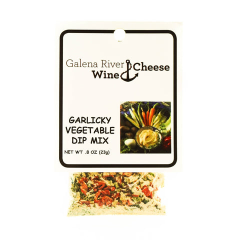 GRWC Garlicky Vegetable Dip .8oz - Galena River Wine and Cheese