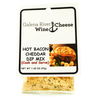 GRWC Hot Bacon Cheddar Dip 1.65oz - Galena River Wine and Cheese