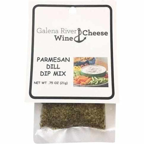 GRWC Parmesan Dill Dip Mix .75oz - Galena River Wine and Cheese