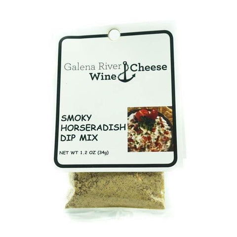 GRWC Smoky Horseradish Dip 1.2oz - Galena River Wine and Cheese