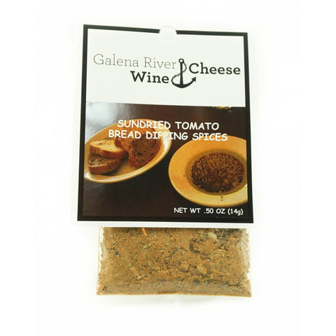 GRWC Sundried Tomato Bread Dipping Spices .5oz-Galena River Wine and Cheese