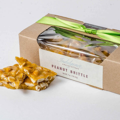 Indulgence Chocolatier Peanut Brittle 7oz-Galena River Wine and Cheese