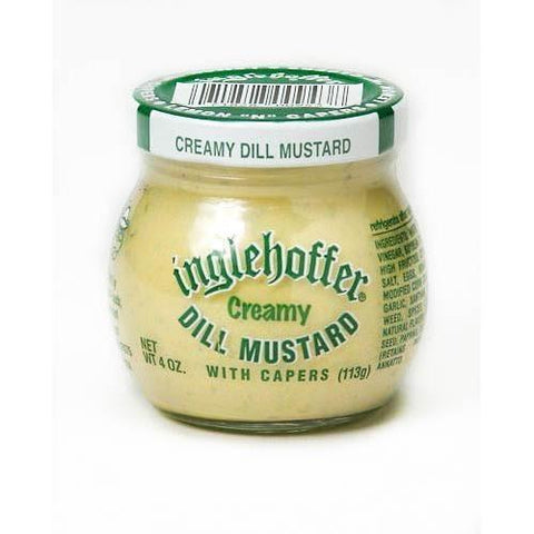 Inglehoffer Dill Mustard 4oz-Galena River Wine and Cheese