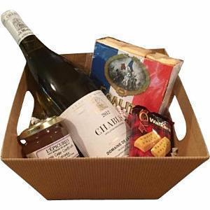 Kraft Market Tray - Square - Galena River Wine and Cheese