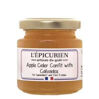 L'Épicurien Apple Cider Confit with Calvadas 4.41oz - Galena River Wine and Cheese