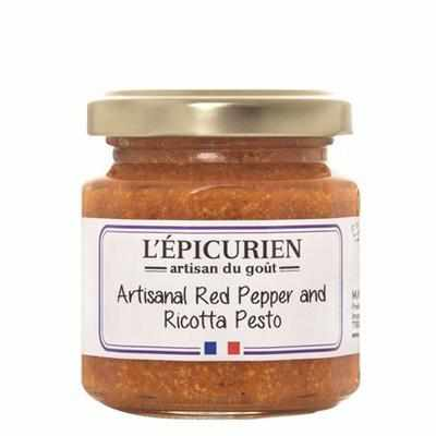 L'Épicurien Red Pepper & Ricotta Pesto 4.4oz - Galena River Wine and Cheese