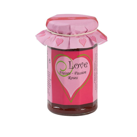 Les Confitures a l'Ancienne Love Jam 9oz-Galena River Wine and Cheese
