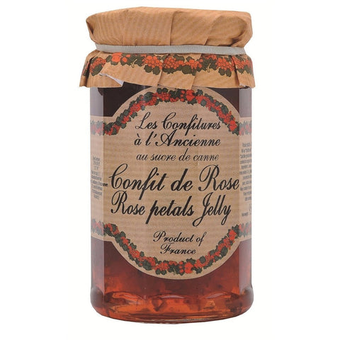Les Confitures a l'Ancienne Rose Petal Jam 9.5oz-Galena River Wine and Cheese