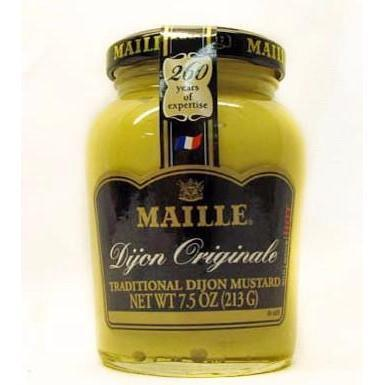 Maille Dijon Mustard 7.5 oz-Galena River Wine and Cheese