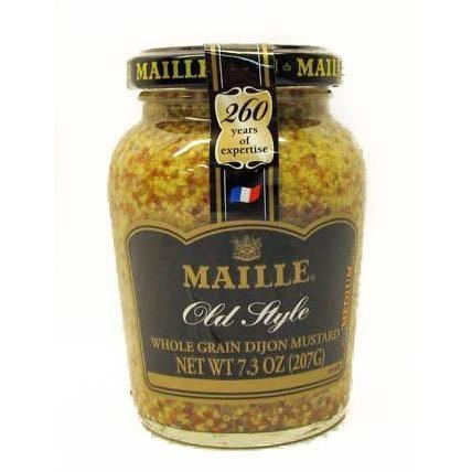 Maille Grained Mustard 7.5 oz - Galena River Wine and Cheese