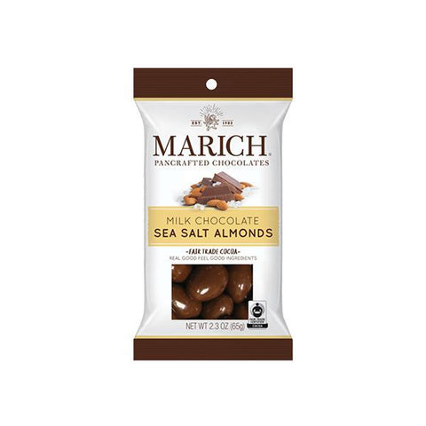 Marich Sea Salt Almonds 2.3oz - Galena River Wine and Cheese