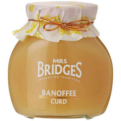 Mrs Bridges Banoffee Curd With Real Butter 12oz-Galena River Wine and Cheese