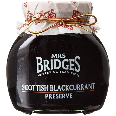 Mrs Bridges Scottish Blackcurrant Preserve 12oz-Galena River Wine and Cheese