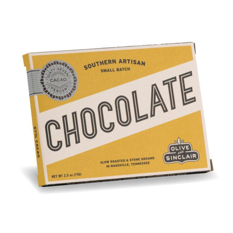 Olive and Sinclair Cacao Ghana Chocolate 2.5oz - Galena River Wine and Cheese