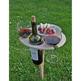 Outdoor Collapsible Wine Table-Galena River Wine and Cheese